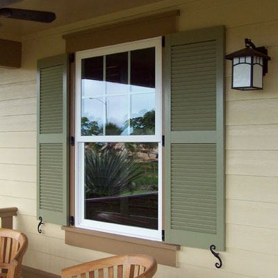 Painting shutters shutter screendoor hardware for Paint vinyl shutters