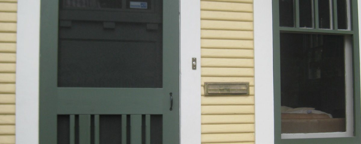 Screendoor hardware