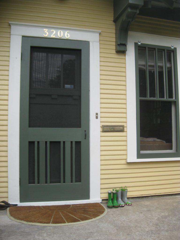 Should you buy a storm door or screen door shutter for Buy screen door