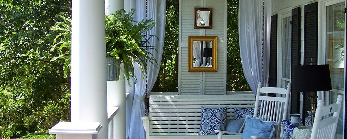 front porch ideas shutter hardware