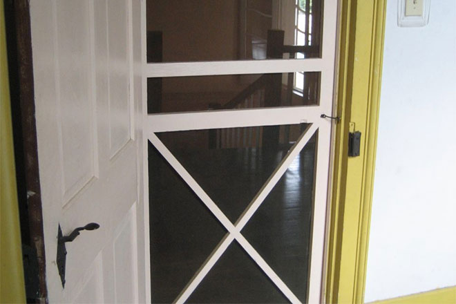 How To Install A Screen Door Hardware Kit